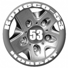 Логотип компании Колесо-53